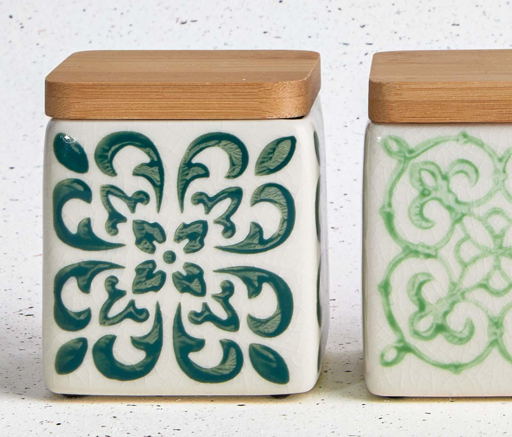Marrakesh-Stoneware-Kitchen-Canisters