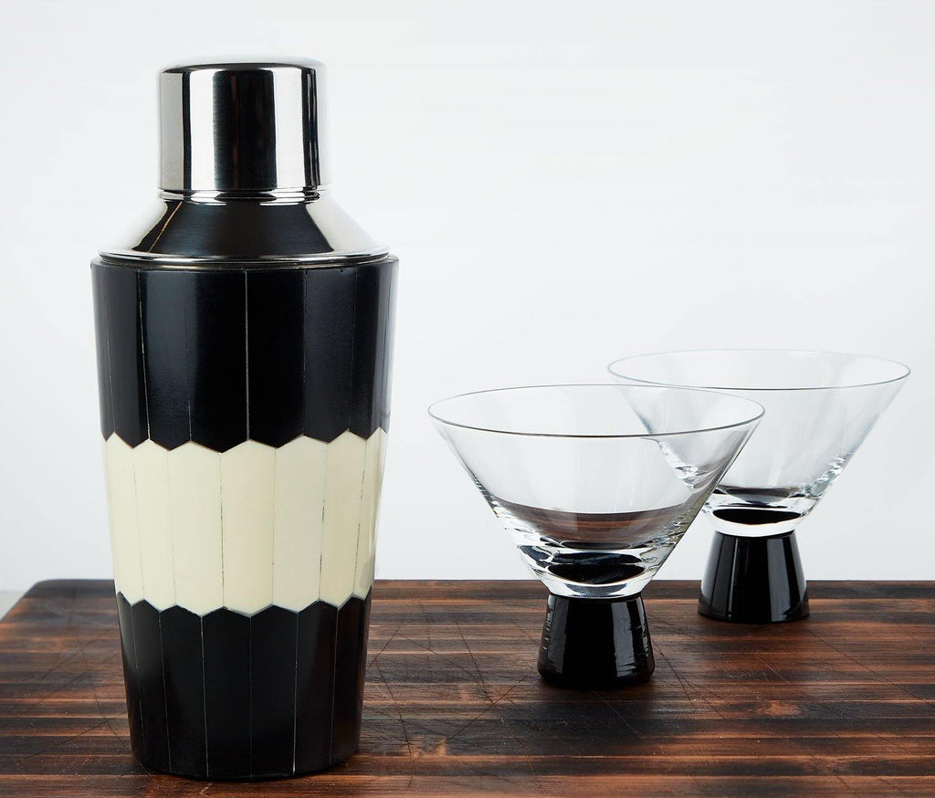 The Audrey Cocktail Shaker -Mid-Century