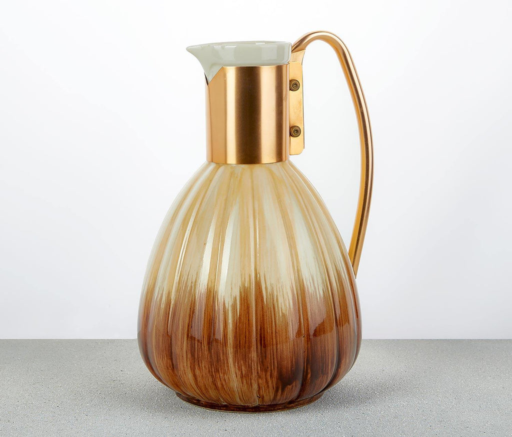 Ombre Mid-Century Pitcher