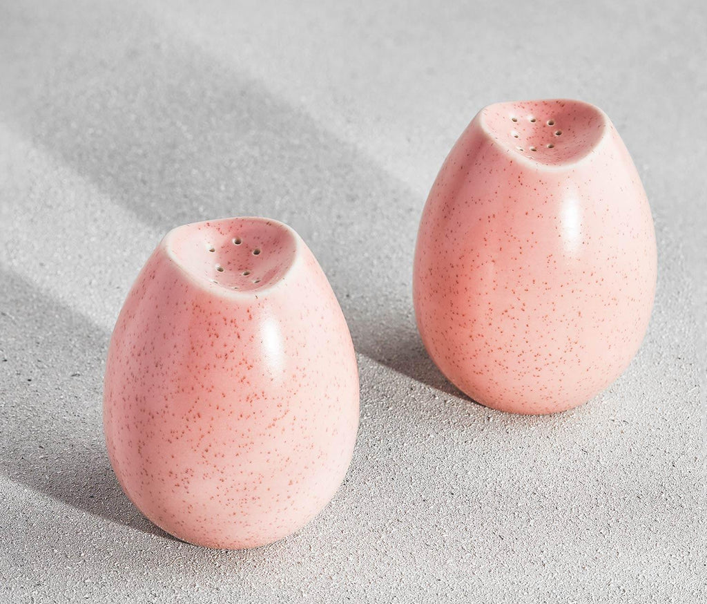 Pink Salt & Pepper Shakers set