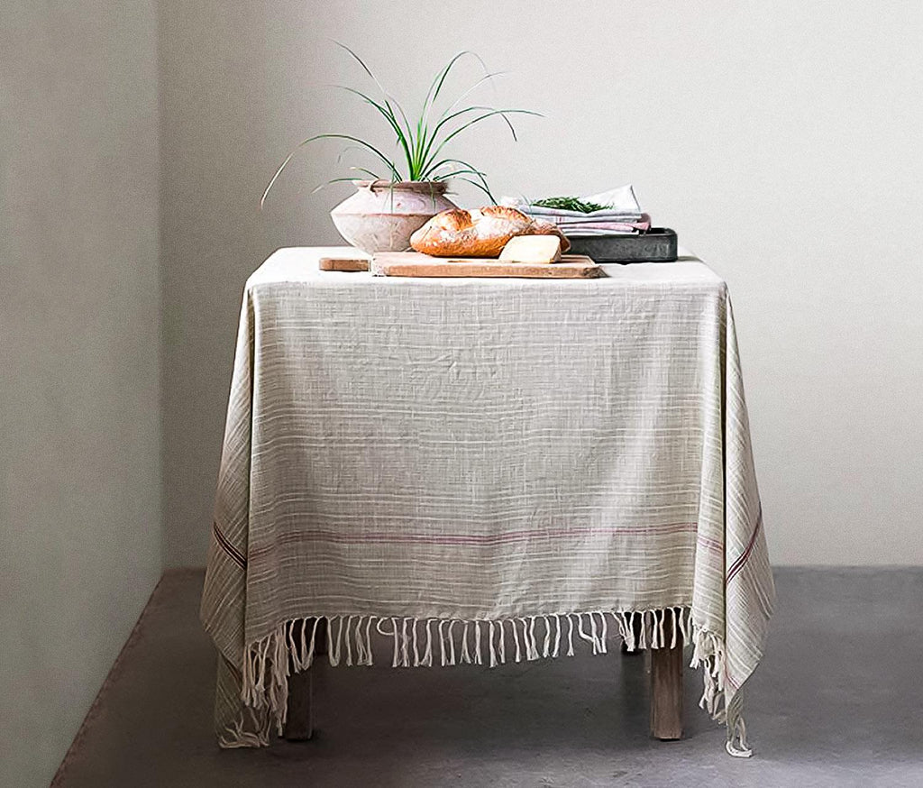 Provence Woven Cotton Table Cloth - lollygag