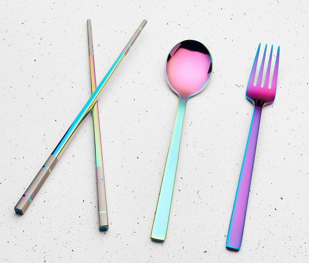 Lollygag.co _ Products _ Reusable Rainbow 0 Flatware & Purple Box Set _ Shopify