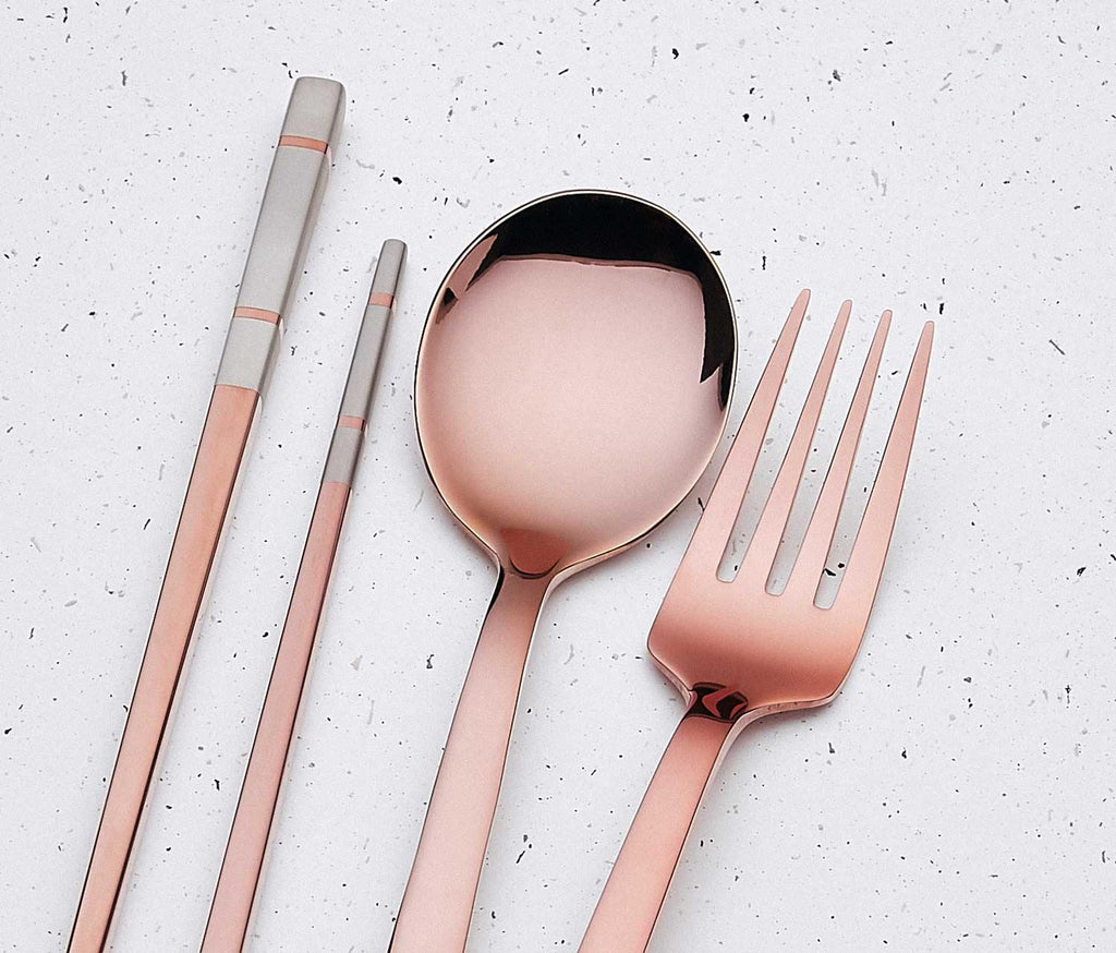 Reusable  Flatware with box