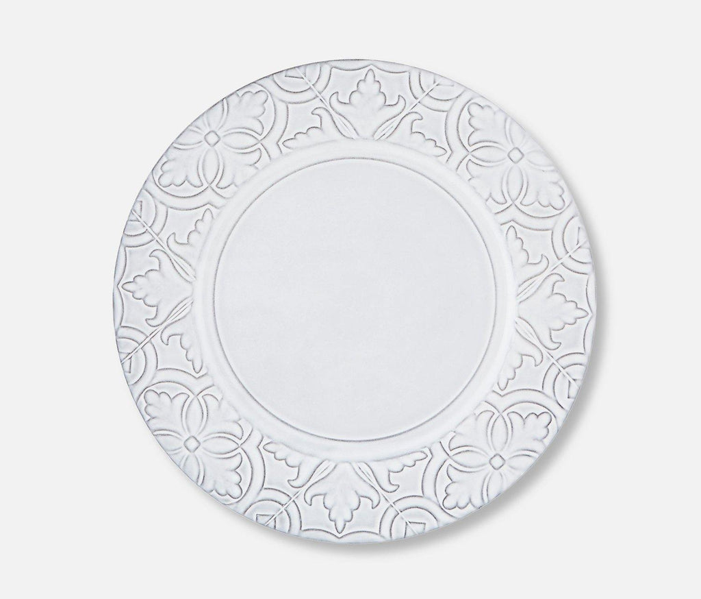 Rua Nova Antique White Dinner Plate - lollygag