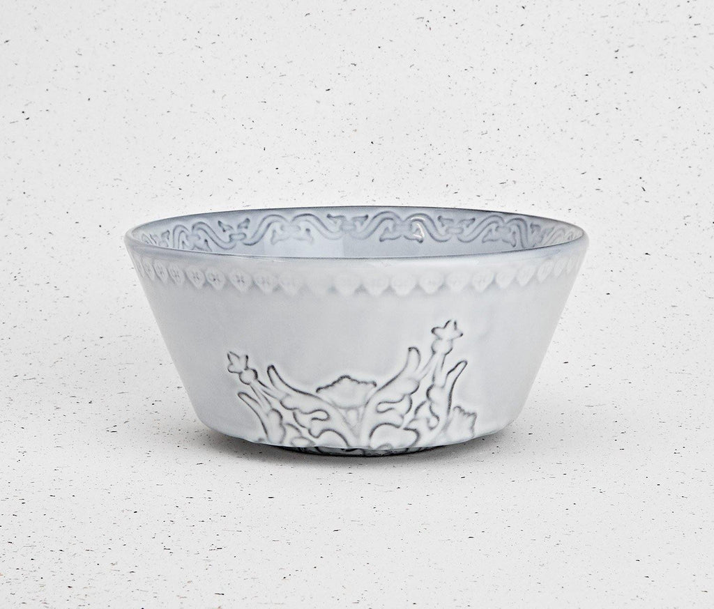 Rua Nova Antique White Medium Bowl - Set of 2 - lollygag