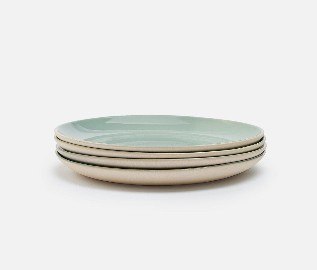 Shell Bisque Mist Salad Plates - Set of 2 - lollygag