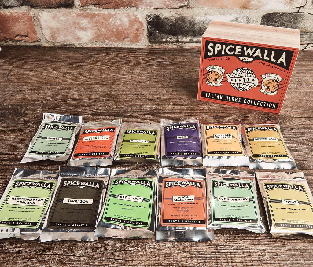 Dried Herbs Collection By Spicewalla - lollygag
