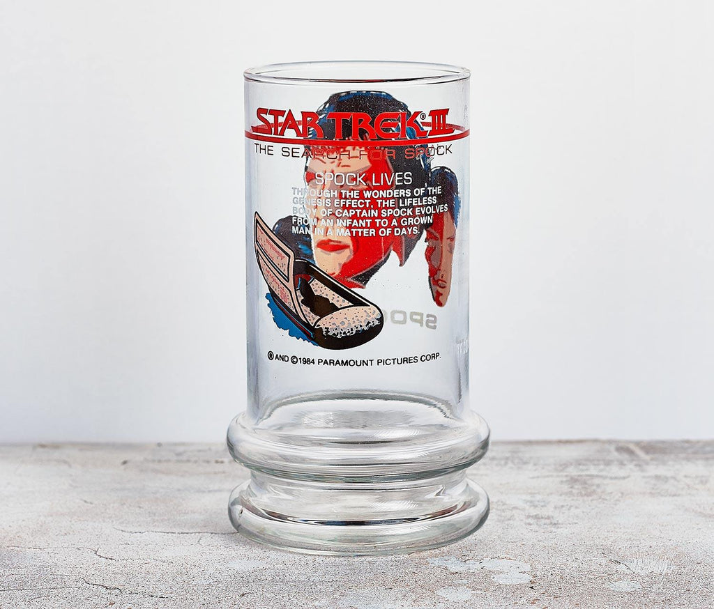 Star Trek III Spock Tall Glass - Vintage - lollygag