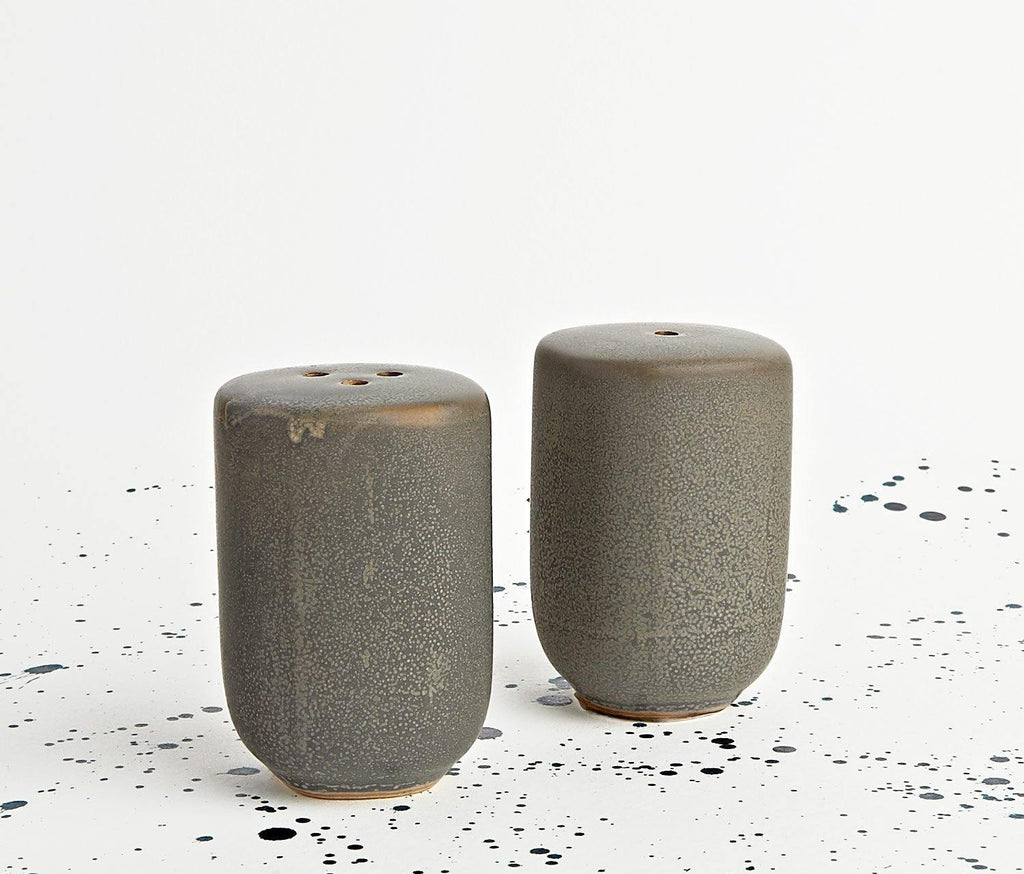 Suji Stoneware Salt & Pepper Shakers - lollygag