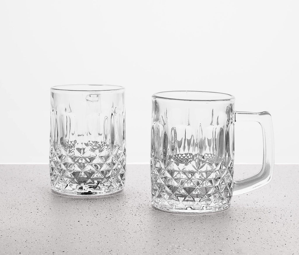 Vivien Studded Beer Mugs Set
