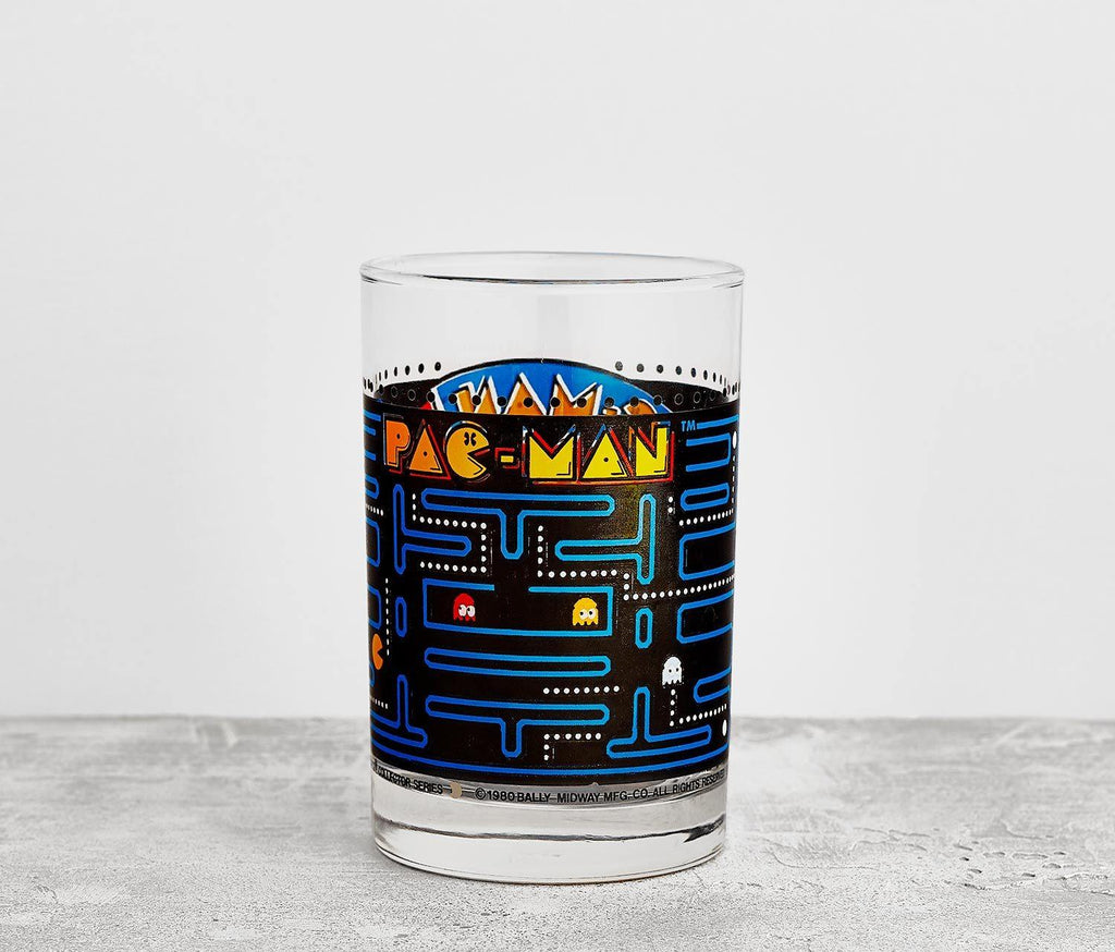 Pac-Man Tumbler Glass -Vintage - lollygag