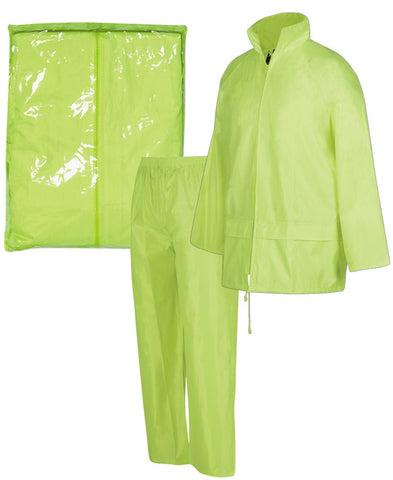 Bagged Rain Jacket/Pants Set