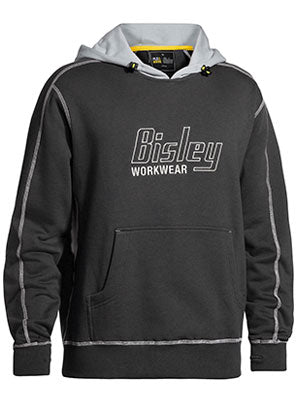 Bisley Flex & Move Contrast Hoodie with Bisley Logo