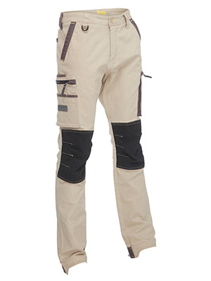 Bisley Flex & Move Stretch Utility Zip Cargo Pants