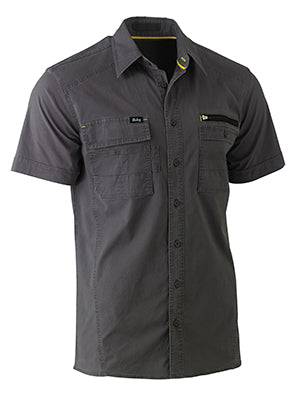 Bisley Flex & Move Utility Work Shirt - Short Sleeve