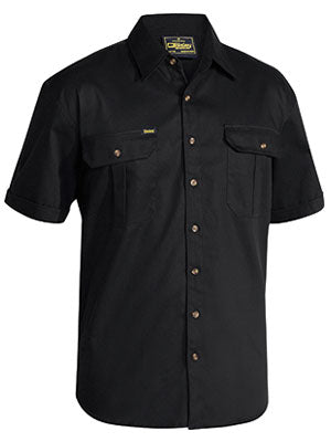 Bisley Original Cotton Drill Shirt - Short Sleeve