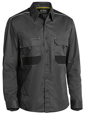 Bisley Flex & Move Mechanical Stretch Shirt - Long Sleeve