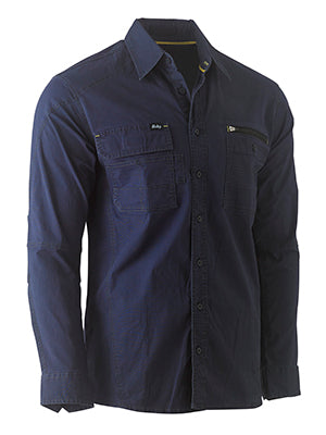 Bisley Flex & Move Utility Work Shirt - Long Sleeve