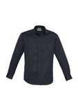 Biz Reno Stripe Long Sleeve Shirt