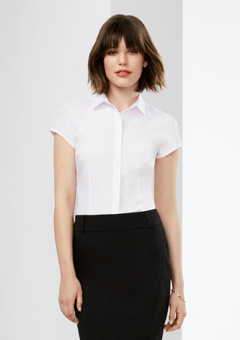 Biz Ladies Euro Short Sleeve Shirt