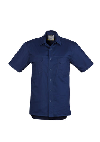 5 Embroidered Syzmik Lightweight Tradie Shirts