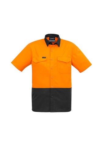 Syzmik Rugged Cooling Hi Vis Spliced Shirt S/S