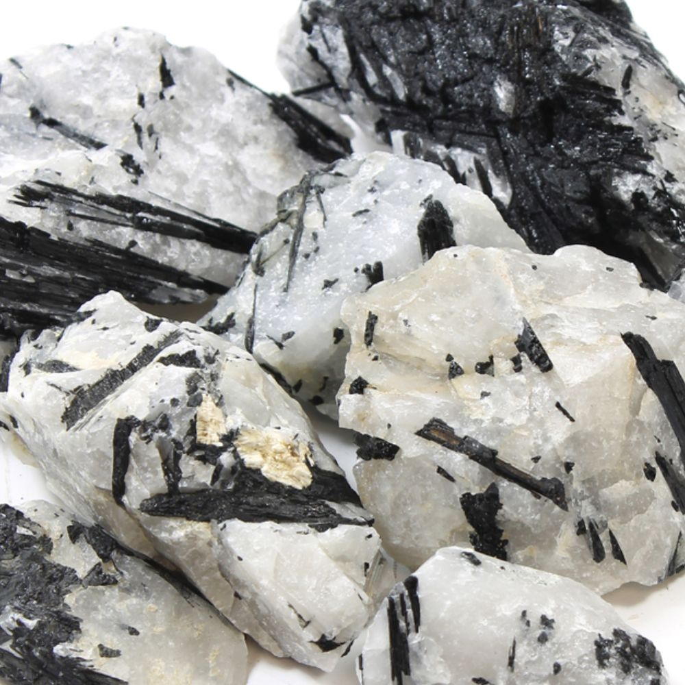 Crystal of the Month: Black Tourmalinated Quartz