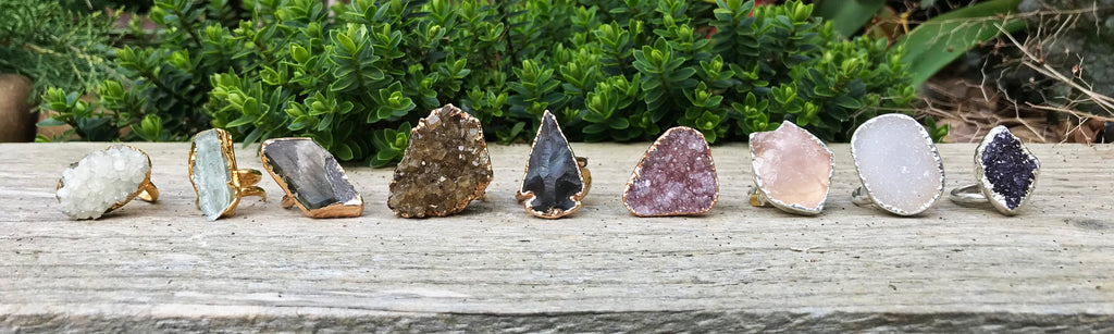Gemstone Single Stone Rings