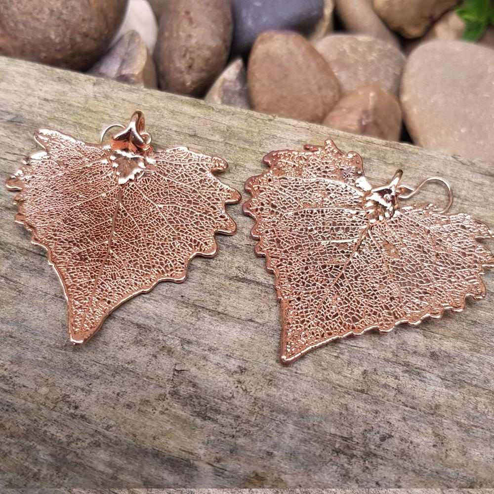Cottonwood Rose Gold Plate Earrings