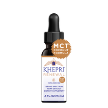 Load image into Gallery viewer, KR Broad Spectrum Hemp Extract 16+mg/serving .5 FL OZ (15mL) BLENDED WITH MCT COCONUT OIL