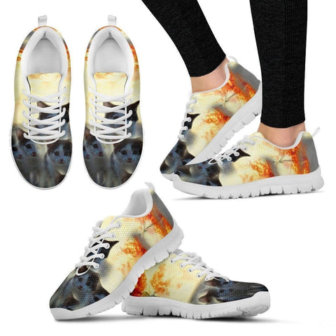 James Bond Cat Sneakers (Men And Women Running Shoes)- Free Shipping-Paww-Printz-Merchandise