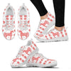 Morgan horse Print Christmas Running Shoes For Women-Free Shipping-Paww-Printz-Merchandise