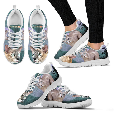Tonkinese Cat (Halloween) Print-Running Shoes For Women/Kids-Free Shipping