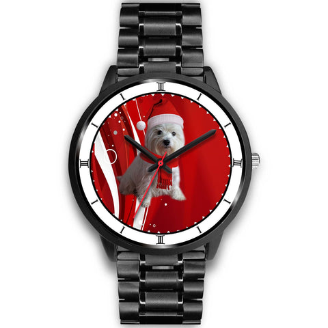 West Highland White Terrier (Westie) Christmas Special Wrist Watch-Free Shipping