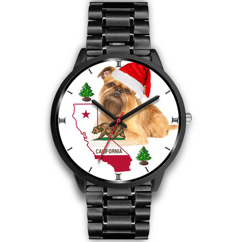 Brussels Griffon California Christmas Special Wrist Watch-Free Shipping