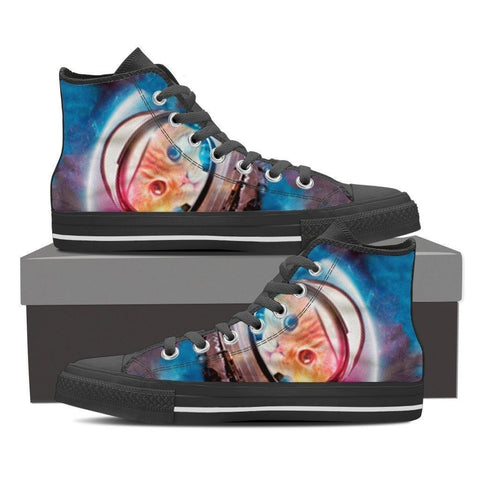 High Top Canvas Shoes - Free Shipping-Paww-Printz-Merchandise
