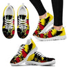 Superhero Print Running Shoes (Men/Women)- Free Shipping-Paww-Printz-Merchandise