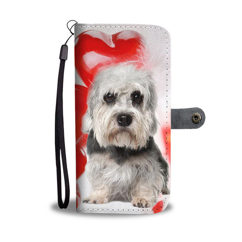 Cute Dandie Dinmont Terrier Wallet Case- Free Shipping