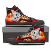 Cat Eat Pizza Women's Canvas Shoes-3D Print-Free Shipping-Paww-Printz-Merchandise