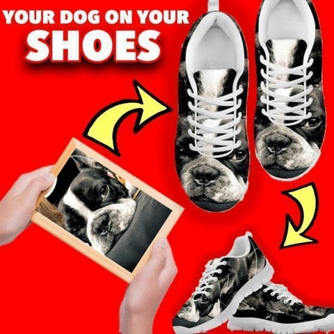 Create Your Personalized 'Dog' Design Sneakers-Paww-Printz-Merchandise