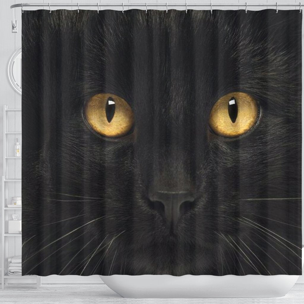 Bombay Cat Print Shower Curtain Free Shipping