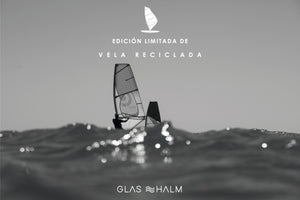 KIT GLASHALM Edición limitada VELA RECICLADA