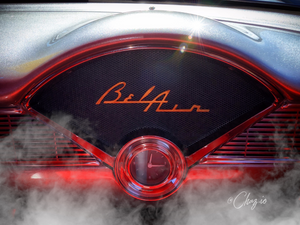 Bel Air Classic Car Dashboard