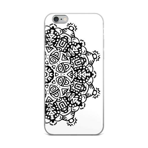 Electric Eye Mandala iPhone Case