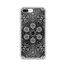 Black Mandala iPhone Case