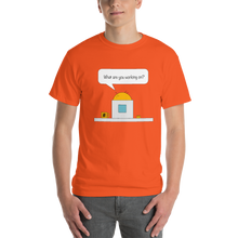 Bubble Thoughts - PC - What are you working on - Short-Sleeve T-Shirt