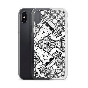Carrot Strong Vegan Muscles iPhone Case