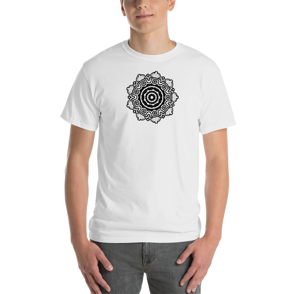 Mandala Nipples Short-Sleeve T-Shirt
