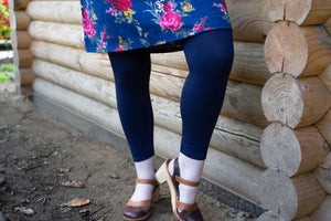Legging Navy Blue legging Tantilly