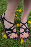 Nature Summer Sandals - Black